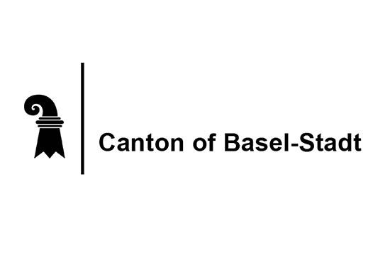 Canton of Basel-Stadt logo white