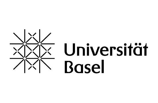Universität Basel logo white