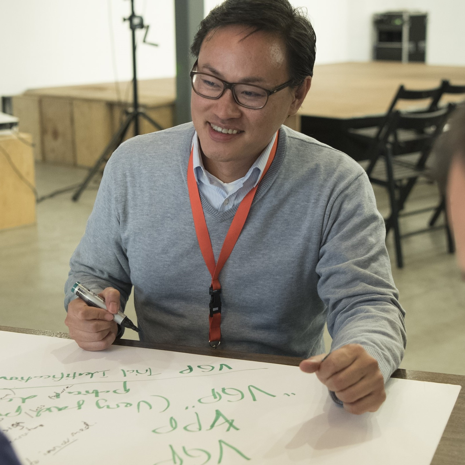 brainstorming employee - dayone