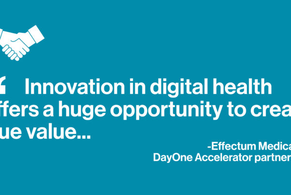 Innovation in digital health offers a huge opportunity to create true value