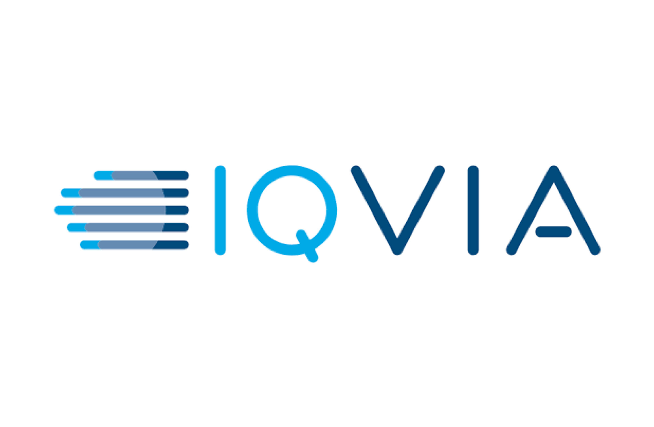 Iqvia logo white