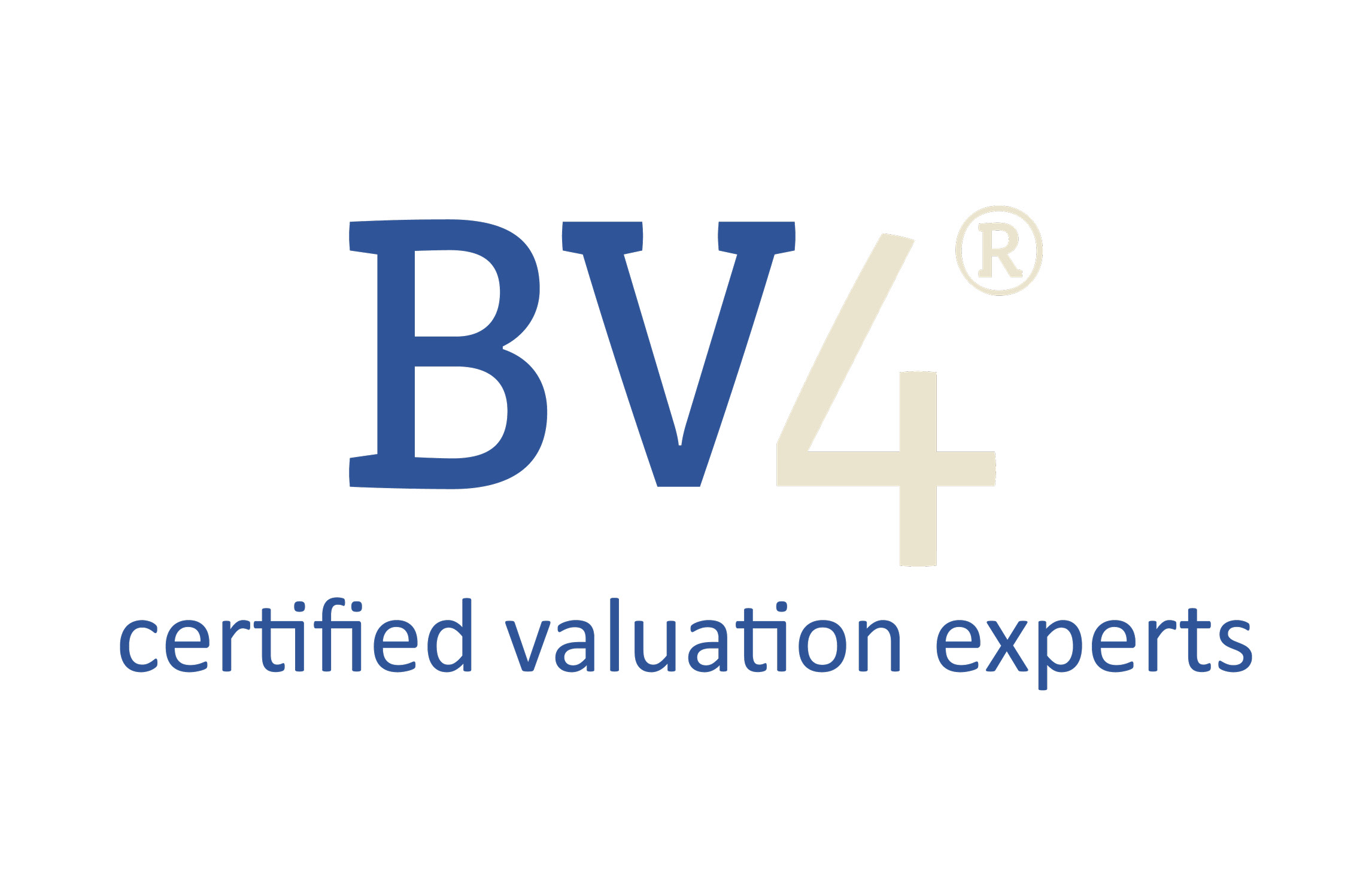 Bv4 Certified valuation experts logo