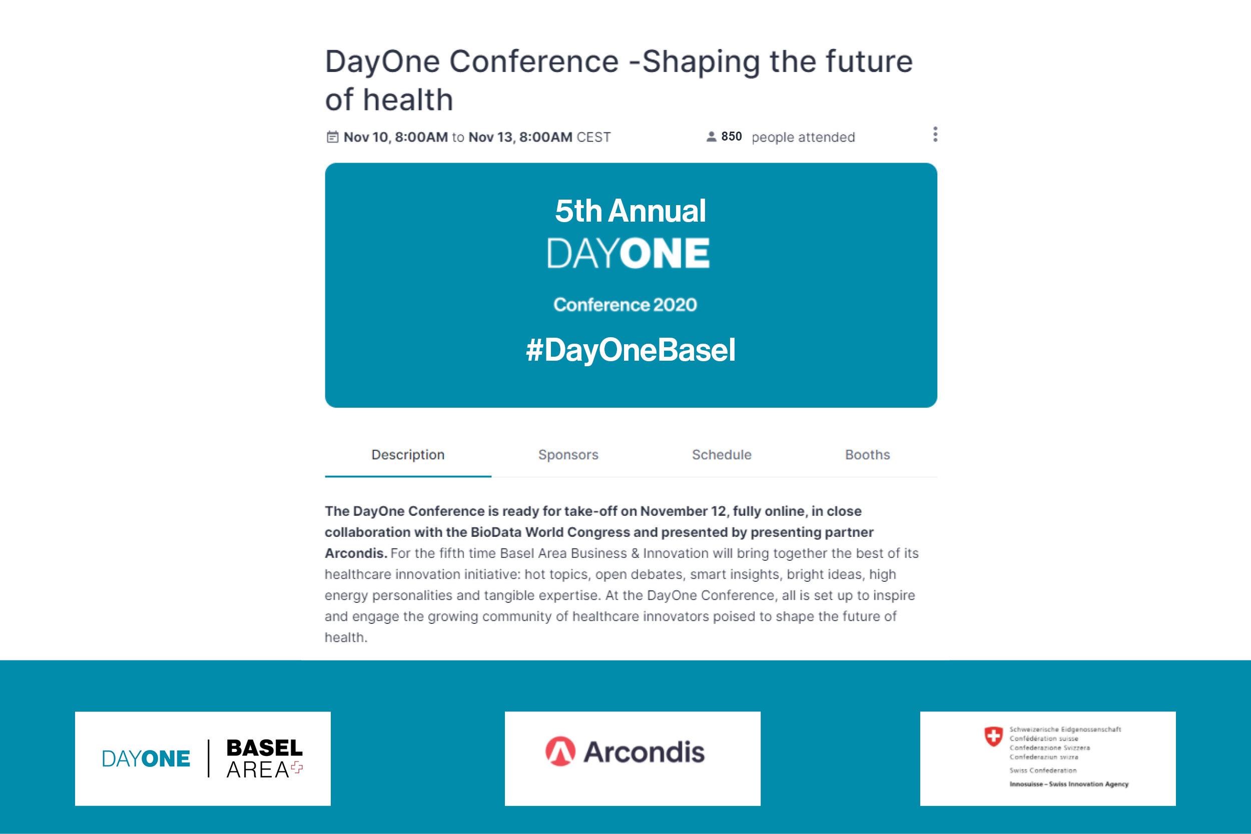 DayOne Conferece - Shaping the future of health